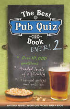 The Best Pub Quiz Book Ever! 2, Preston, Roy, Preston, Sue, Excellent Book