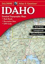 Delorme Atlas Idaho 8e : Deid (2015, US-Tall Rack Paperback)