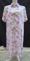 Mandy Marsh vintage short sleeve floral panelled cut dress Size 20