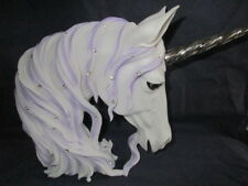Fabulous Large (31cm) 'Jewelled Magnificence' -White Unicorn Head by Nemesis Now