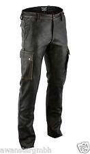 AW-7910 Antik Cargo lederhose,Old look,jagd leder hose,leather trousers.34W