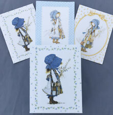 Holly Hobbie Stationery Keepsake Box W/11 Note Cards 9 Envelopes Collectible