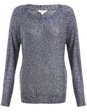 MONSOON Rio Sequin Jumper Size Large BNWT