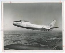 8X10 PHOTO BB-094 USAF F-86 SABRE AIRCRAFT FLOWN BY JOHN GLENN IN KOREA