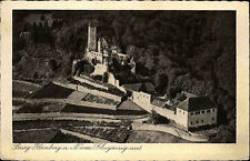 1942 Stempel Gundelsheim auf Feldpostkarte Burg Hornberg vom Flugzeug aus geseh.