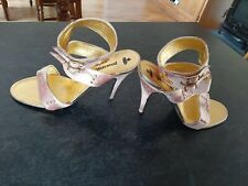 Vivienne Westwood Heels Size 7 Pink +Gold, Vintage, Bought In 2002. Never Worn