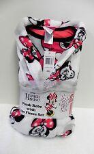 NWT Disney's Licensed 3-Piece Plush Robe & Fleece Pajama Set, Minnie Mouse 6, S