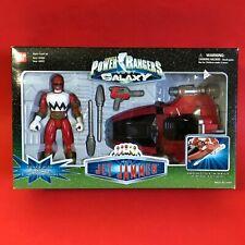 Vintage Power Rangers Lost Galaxy Red Jet Jammer Bandai MIB