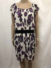 HUGO BOSS DRESS WOMENS ~ SIZE US 8 UK / AU 12 ~ GREAT COND COLORFUL PRINT DESIGN