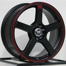 16 Inch Wheels Rims Black Scion Acura Honda Accord Civic FITS: Altima 5 Lug NEW