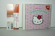 HELLO KITTY LOVELY FRUIT PARK USATO OTTIMO SEGA DREAMCAST ED GIAP GD1 37839