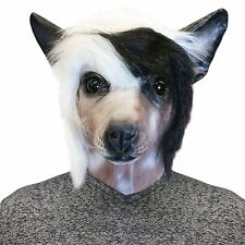 Chinese Crested Dog Face Mask - Off the Wall Toys Kennel Club