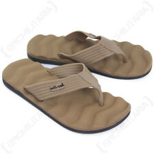 Flip Flops - Coyote Tan Sandals Beach Summer Outdoor Footwear All Sizes Sun New