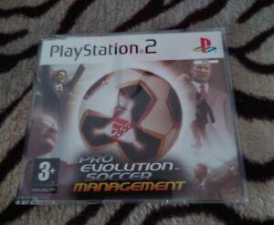 PS2 Pro Evolution Soccer Management Promo Presse Version