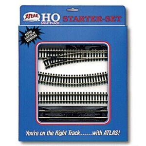 Atlas  HO Code 100 Snap Track Starter Set  ATL88