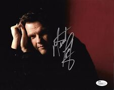 """Meat Loaf singer hand SIGNED 8x10"""" PHOTO JSA COA Bat Out Of Hell Autographed"""