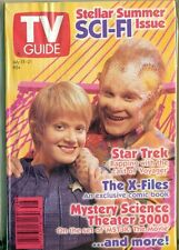 TV GUIDE - 1995 - STAR TREK + X-FILES COMIC BOOK + MYSTERY SCIENCE THEATER 3000