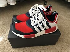 ADIDAS NMD WM Trail PK White Blue Red Size 8.5 BA7519