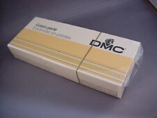 New Old Stock DMC Factory Sealed Box 10 Balls Cotton Perle size 8 Color BLANC