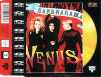 CD VIDEO BANANARAMA VENUS CD OR / GOLD EDITION COLLECTOR SLIM CASE RARE 1987