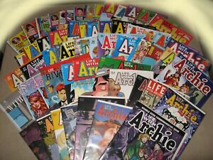 Life With Archie Magazine Complete Collection w Variants VF to NM Death Archie 2