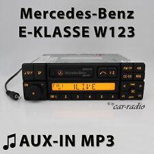 Mercedes Special BE2210 AUX-IN MP3 W123 Radio E-Klasse C123 Kassettenradio RDS