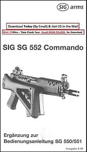Sig Sauer SG 552 Commando Operator Owners Instruction Manual S6