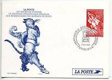 ENTIER POSTALE DU N° 3058 EUROPA COMPTE ET LEGENDE LE CHAT BOTTE 1997 PERIGEUX