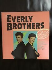 vinyl records- Everly Brothers -24-Original Classics - VG Condition.