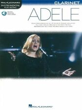 PlayAlong ADELE Play POP Chart Hits Skyfall CLARINET MUSIC BOOK & Online Audio