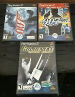 Lot of 3 x 007 Games, GoldenEye and More, PS2 (Playstation 2) Tested & Working