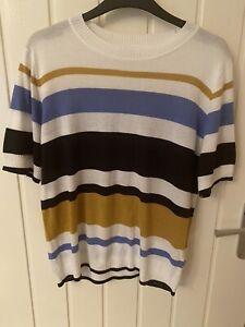 Next Striped Jumper Size 16