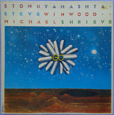 Stomu Yamashta - Steve Winwood - Michael Shrieve – Go  VINYL  LP   NEW 1976