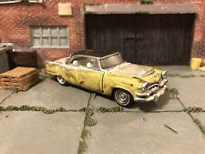 1955 Dodge Lancer Rusty Weathered Barn Find Custom 1/64 Diecast Car Farm Rust M2