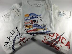NEW Authentic Nautica Men's Graphic Cotton T-Shirt Sailing Challenge CLEARANCE