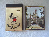 Vintage Lot Of 2 Disney Items,1,WDW Metal Note Pad Holder,1,Disneyland Ash Tray