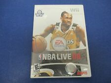 Wii, NBS Live 08, EA Sports, Rated E,Join The Fun! Slam Dunk Contest