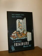 Ancienne affiche / vintage poster - GM Frigidaire MASTER 741 General Motors- 50s