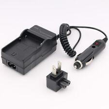 Wall + Car Battery Charger for JVC GR-DX25 DX27 DX28 DX35 DX37 DX45 DX48 DX55