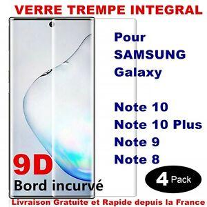 Schutzglas Insgesamt Folie Bildschirm Hartglas 9D Samsung Note 9 8 Note 10 Plus