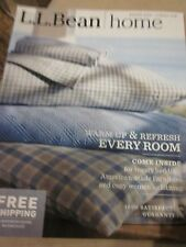 LL BEAN L.L. BEAN HOME CATALOG WINTER 2016 WARM UP & REFRESH EVERY ROOM NEW