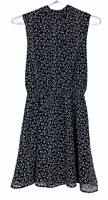 BNWT Jamie My Love Womens Black/White Floral Sleeveless Dress Size XS