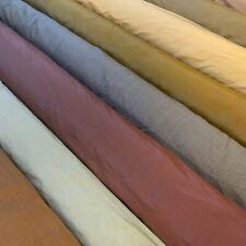 "Silk Shantung Drapery Fabric 54"" Wide 100% Silk By TheYard/Multi-Colors"