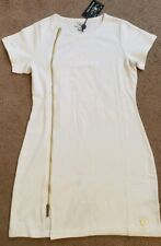 NWT True Religion Women's White Side Zip Dress, Size M