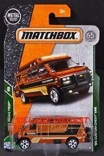 2018 Matchbox #102 '95 Custom Chevy® (G30) Van COPPER / MOTORBIKE / MOC