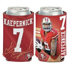 San Francisco 49ers Wincraft #7 Colin Kaepernick 12oz Can Coolie Free Ship