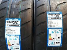 2 x 225/40/18 toyo r888r gg compound/rally tyres/race tyres/trackday tyres/race