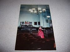 1960s HALL of JUSTICE OLD COURTHOUSE VICKSBURG MISSISSIPPI MS. VTG POSTCARD