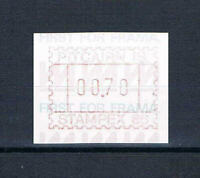 Pitcairn Is - 1986 - Stampex Meter - First for Frama -- MNH 19
