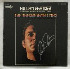 "Autographed William Shatner ""The Transformed Man"" Vinyl Original Pressing Decca"